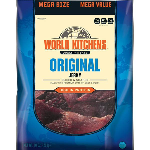 Original Sliced & Shaped Beef & Pork Jerky