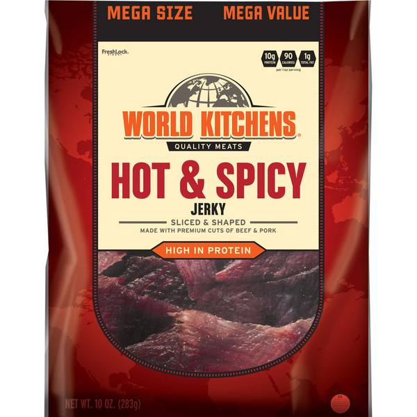 Hot & Spicy Sliced & Shaped Beef Jerky