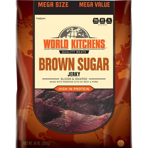 Brown Sugar Sliced & Shaped Beef Jerky