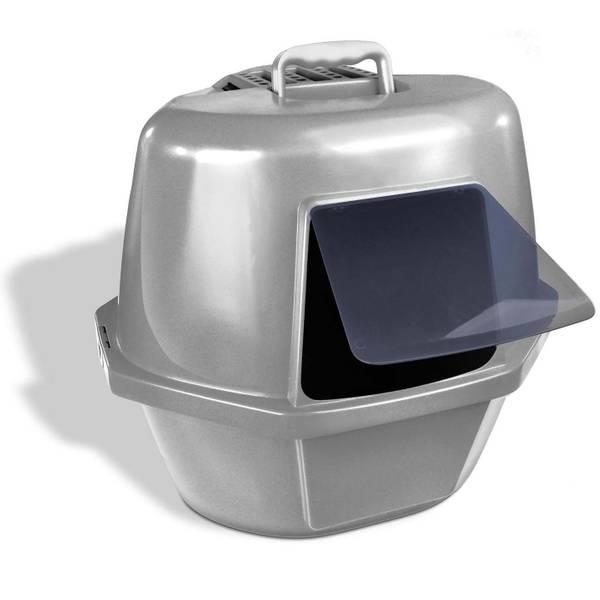 Enclosed Corner Cat Pan