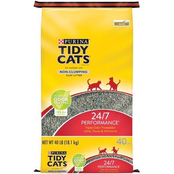 24/7 Performance Non-Clumping Cat Litter