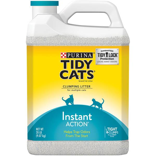 Instant Action Clumping Litter for Multiple Cats