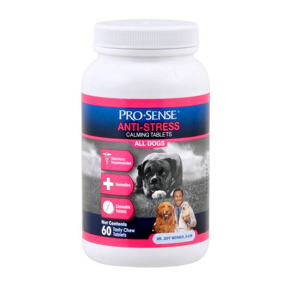 Anti-Stress Calming Tablets for Dogs