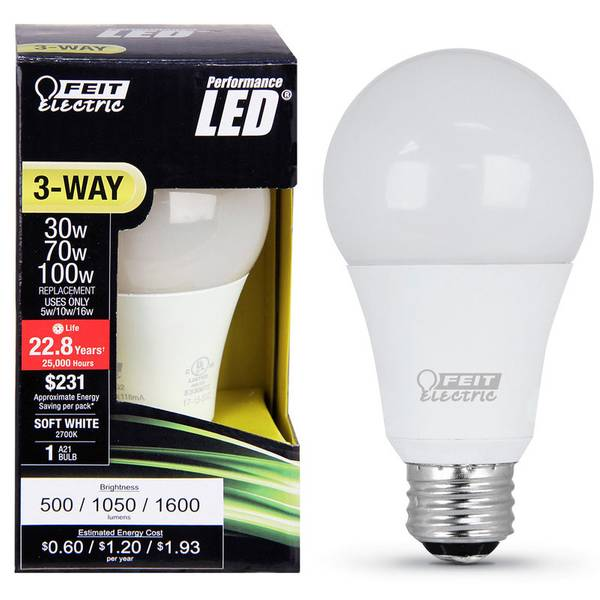 Soft White LED Light Bulb