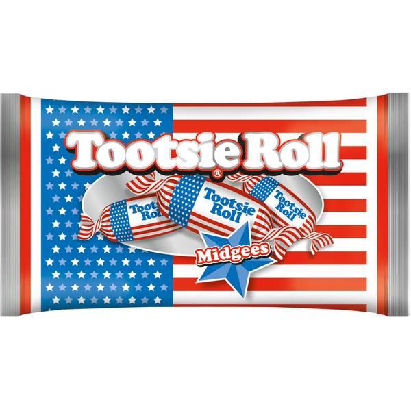 Flag Midgee Tootsie Rolls 11 oz.