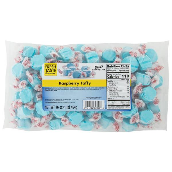 Raspberry Salt Water Taffy