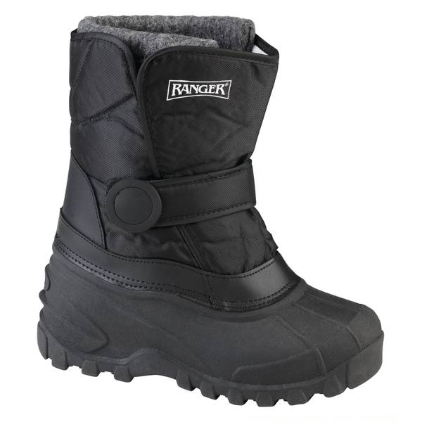 Infant Boy's Black Addison Snow Boots