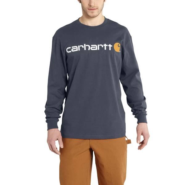 Men's Bluestone Long Sleeve Signature Logo T-Shirt