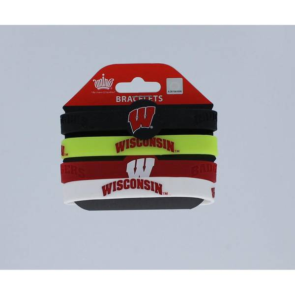 Wisconsin Badgers Bracelet Pack