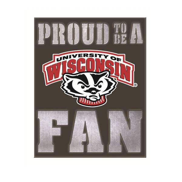 Wisconsin Badgers Metal Led Wall Decor