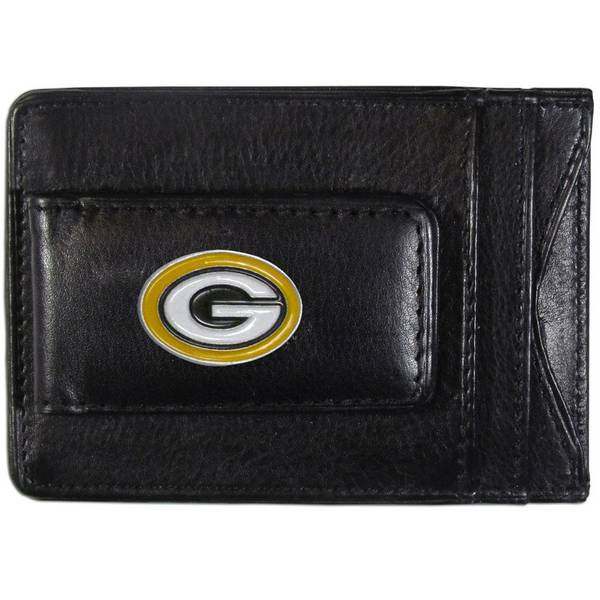 Green Bay Packers Leather Cash & Card Holder