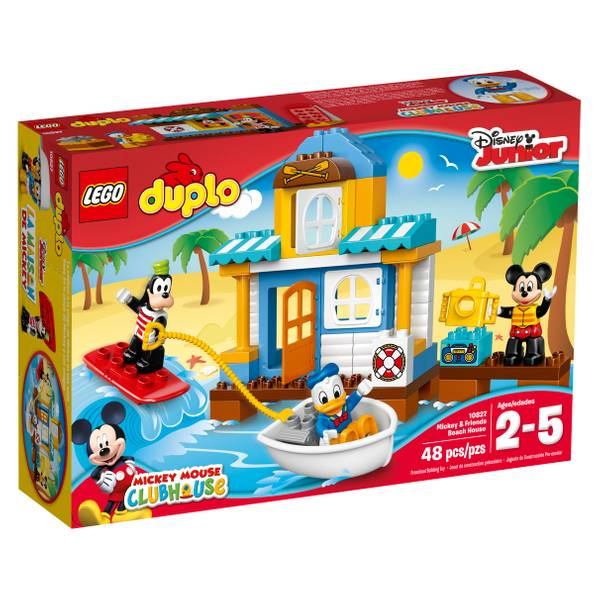DUPLO Disney Mickey & Friends Beach House Building Kit