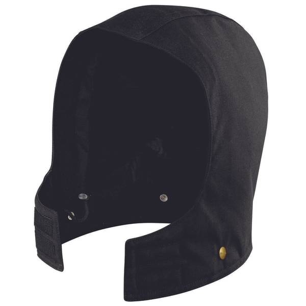 Black Quilted Sandstone Hood