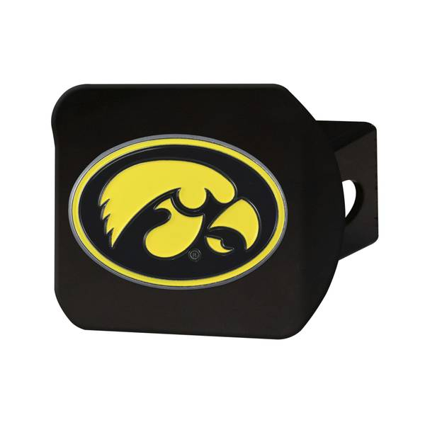 NCAA Iowa Hawkeyes Oval Hitch Cover