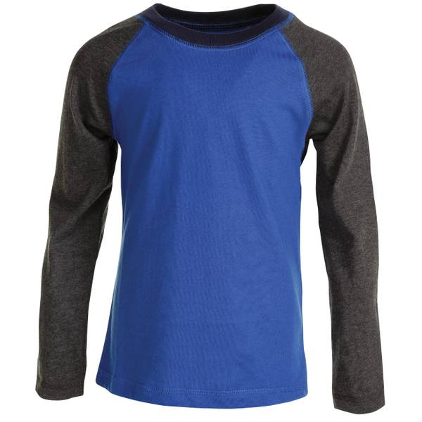 Baby Boys' Long Sleeve Raglan Tee