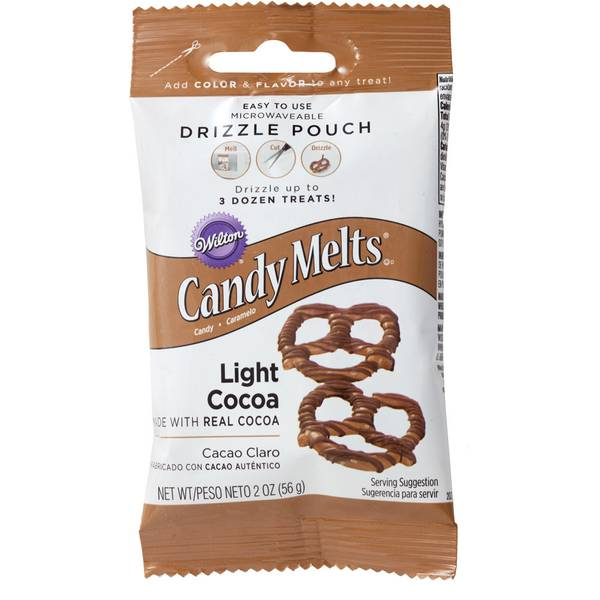 Light Cocoa Candy Drizzles Pouch