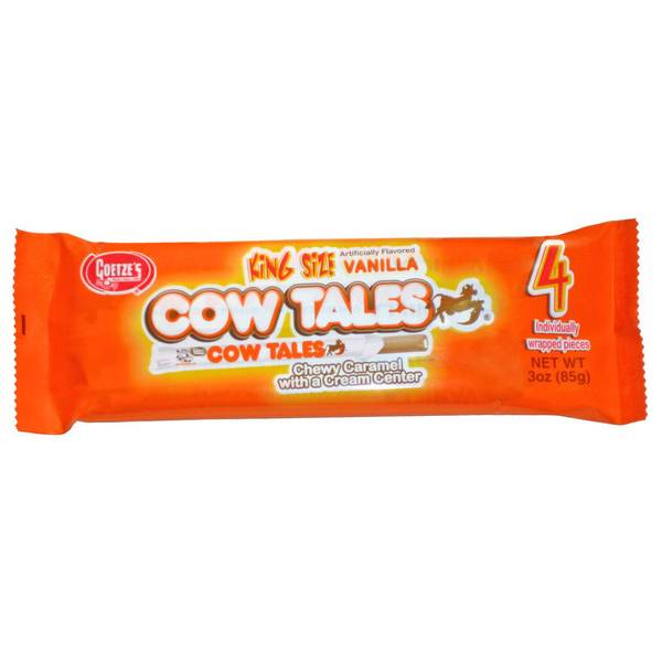 King Sized Cow Tales Vanilla Bars 4-Pack