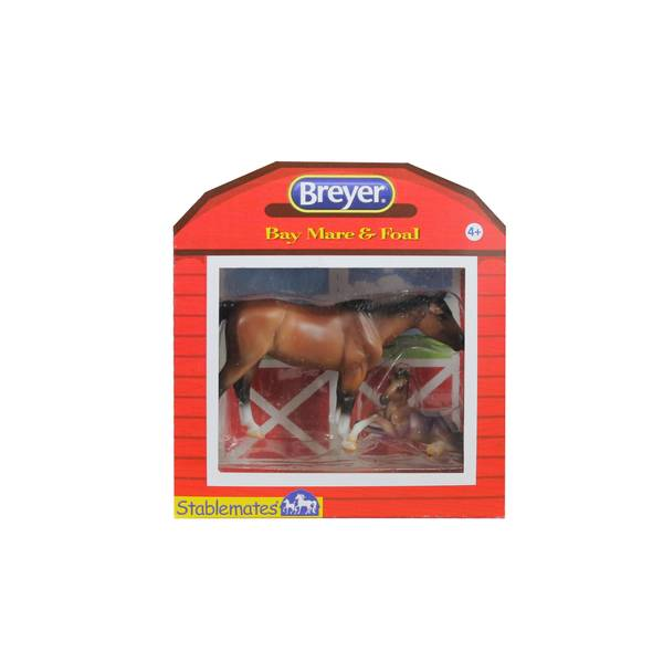 Stablemates Horse & Foal 4-Piece Assortment