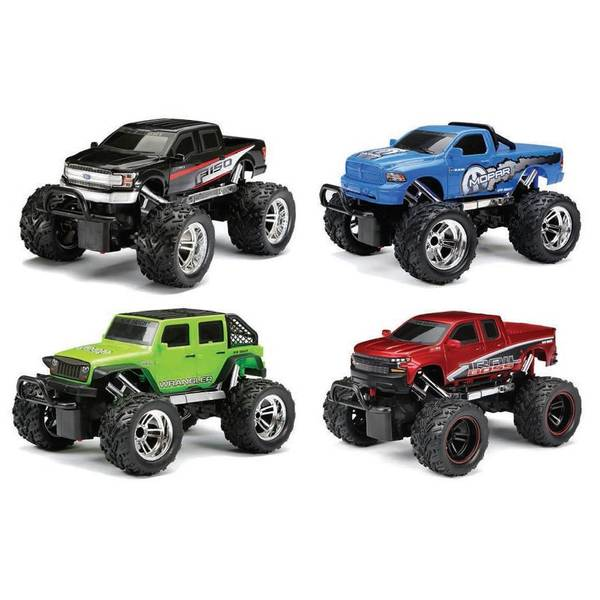 R/C Chargers 4-Door Jeep Assortment