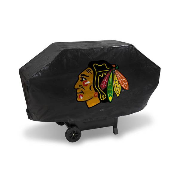 Deluxe Chicago Blackhawks Grill Cover
