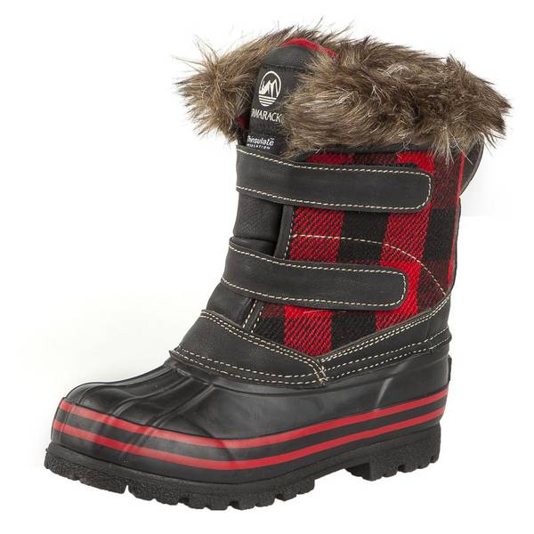 Girls'  Plaid Pac Boots