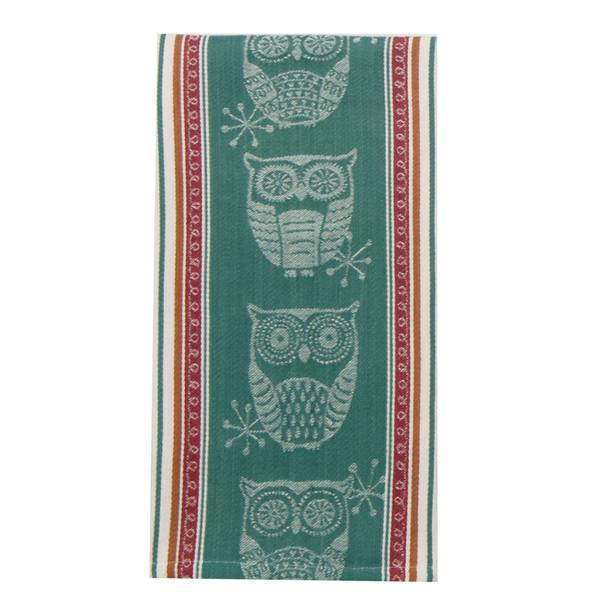 Kay dee designs spice road owl woven jacquard tea towel Kay dee designs kitchen towels