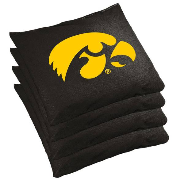 Fabulous Iowa Hawkeyes Regulation Cornhole Bean Bag Set Dailytribune Chair Design For Home Dailytribuneorg