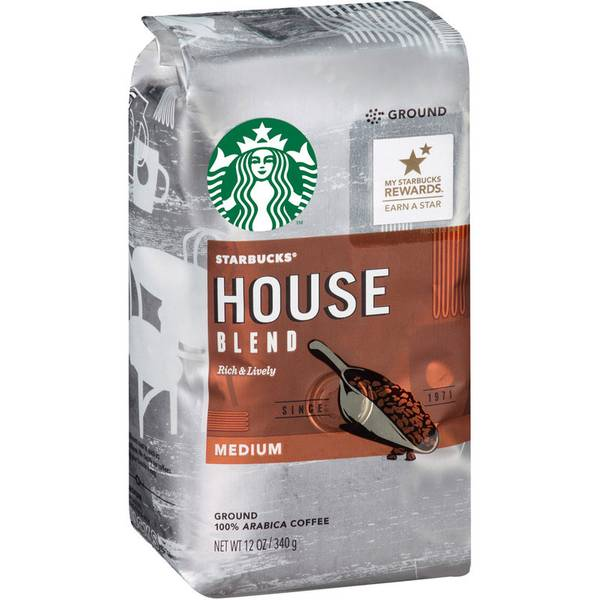 Medium House Blend Ground Coffee