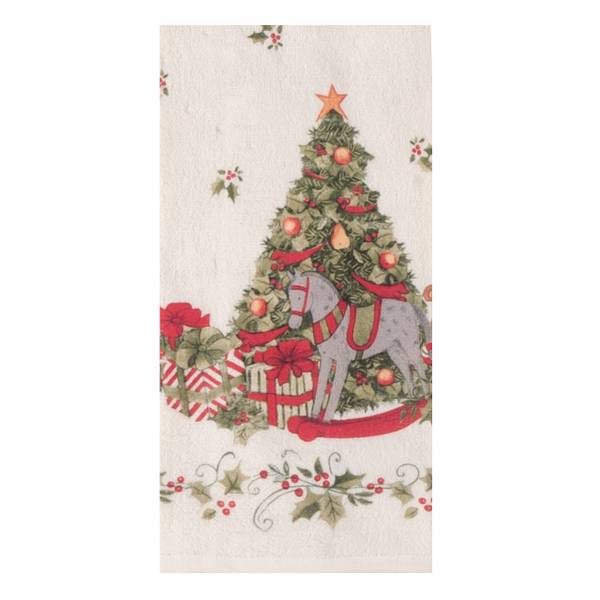 Kay dee designs designs snowy night linen kitchen towel Kay dee designs kitchen towels