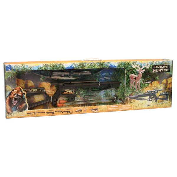 Hunting Crossbow with Inflatable Deer Target