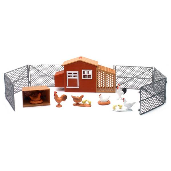 Country Life Large Chick Set With Sound Effect