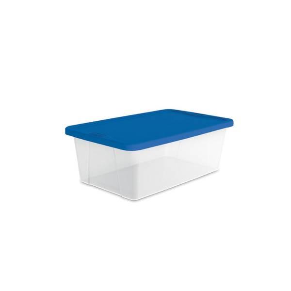 Homz 6 Quart Storage Box