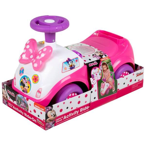 Minnie Light N Sound Activity Ride-on