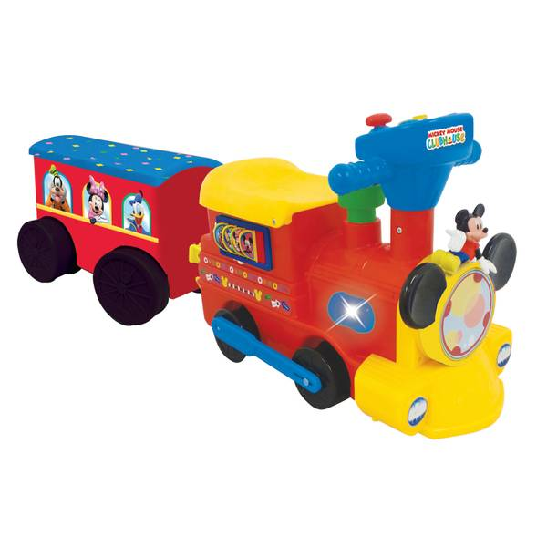 Mickey Mouse 2-in-1 Battery-Powered Train