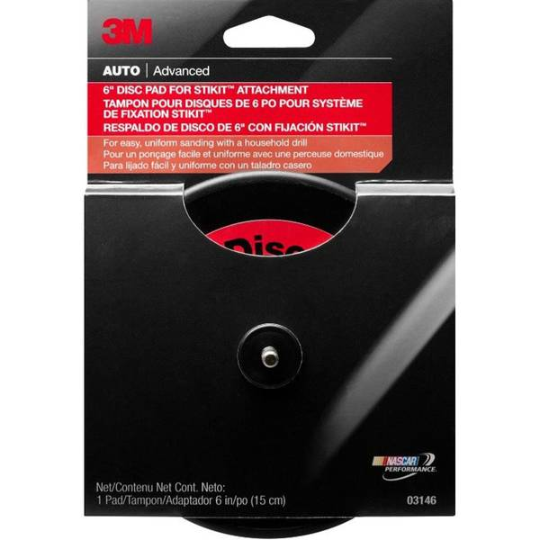 """6"""" Disc Pad for Stikit Attachment"""