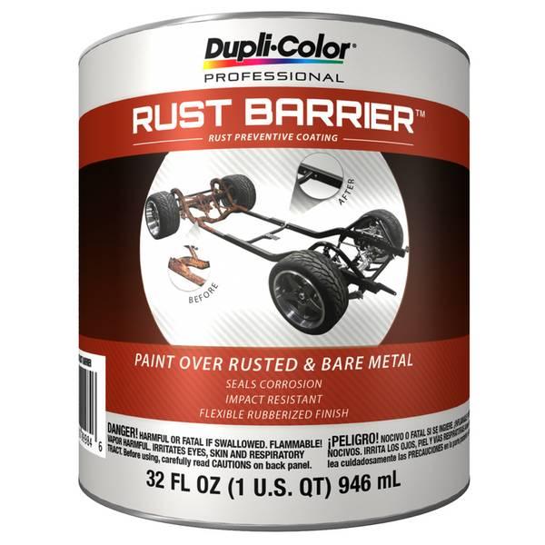 Black Rust Barrier Coating