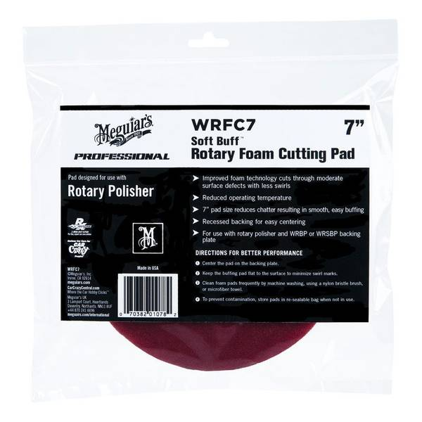 Rotary Foam Cutting Pad
