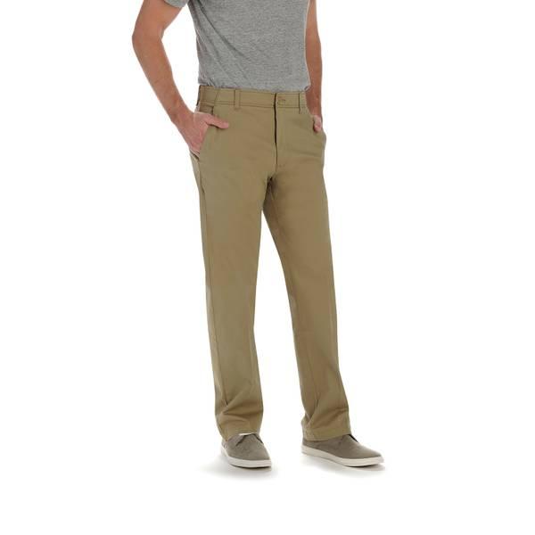 Men's Khaki X-Treme Comfort Straight Leg Pants