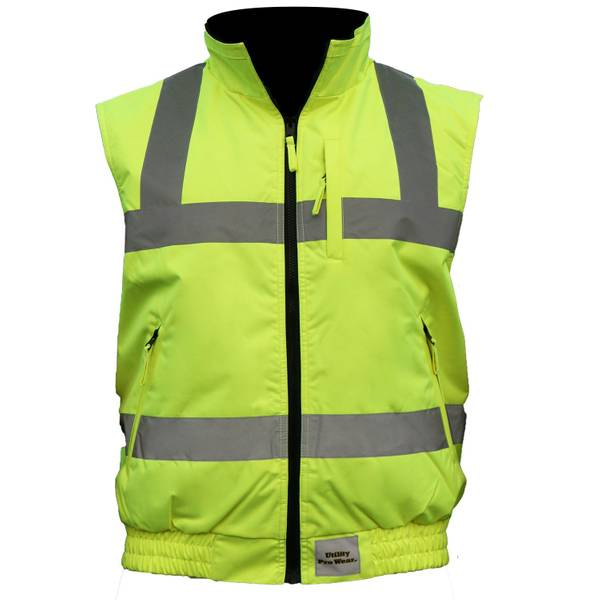 Men's Hi Vis Class 2 Insulated Vest