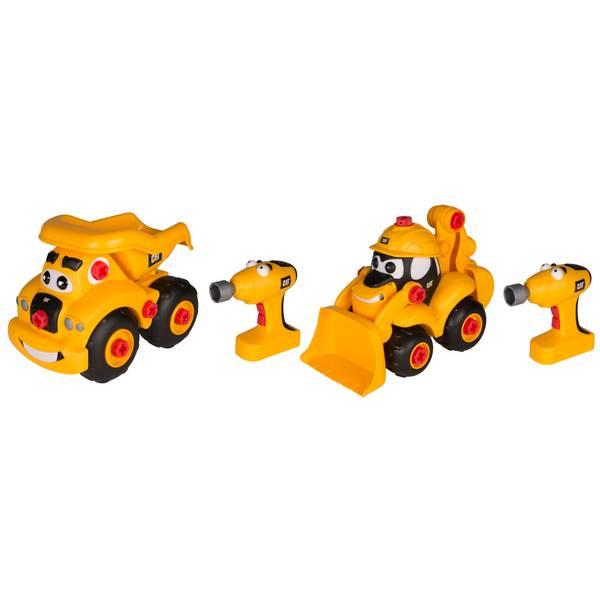 CAT Take-A-Part Buddies Light & Sound Vehicle Assortment