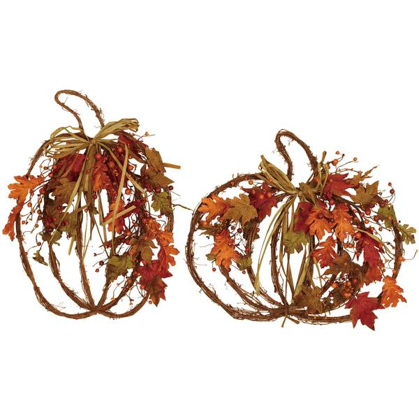Fall Forest Pumpkin Wall Decor Assortment
