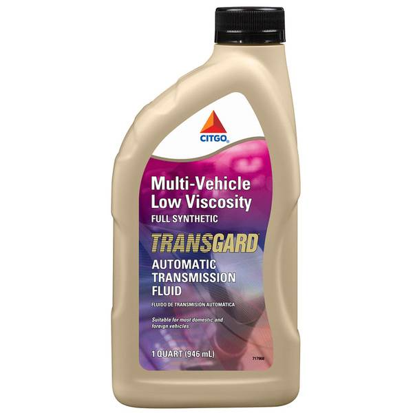 Multi - Vehicle Low Viscosity Full Synthetic Transgard Automatic Transmission Fluid