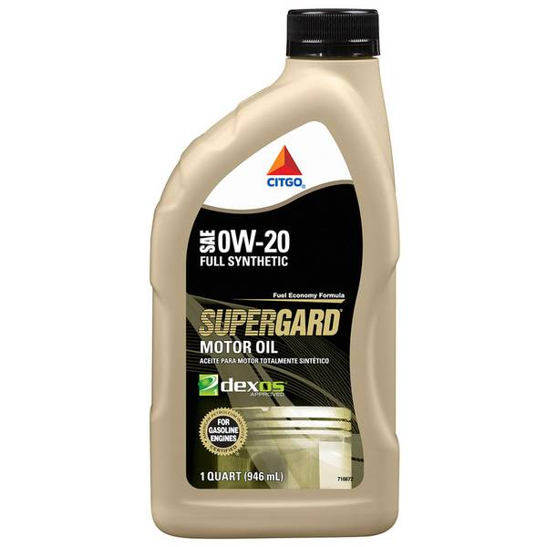 0W20 Supergard Full Synthetic Motor Oil