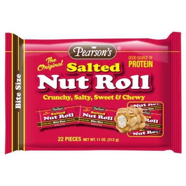 Bite Size Nut Roll Bag