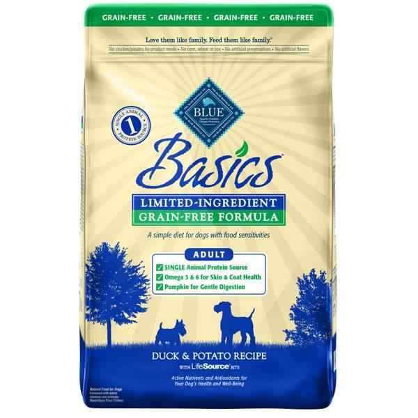 Basics Limited Ingredient Grain Free Adult Dog Food
