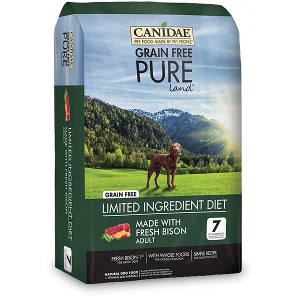 Canidae Grain Free Bison Dog Food Reviews