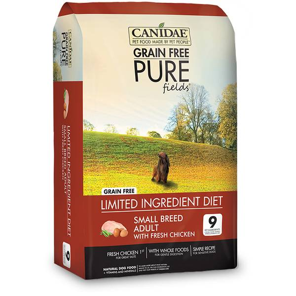 Grain Free Pure Fields Small Breed Formula Dog Food