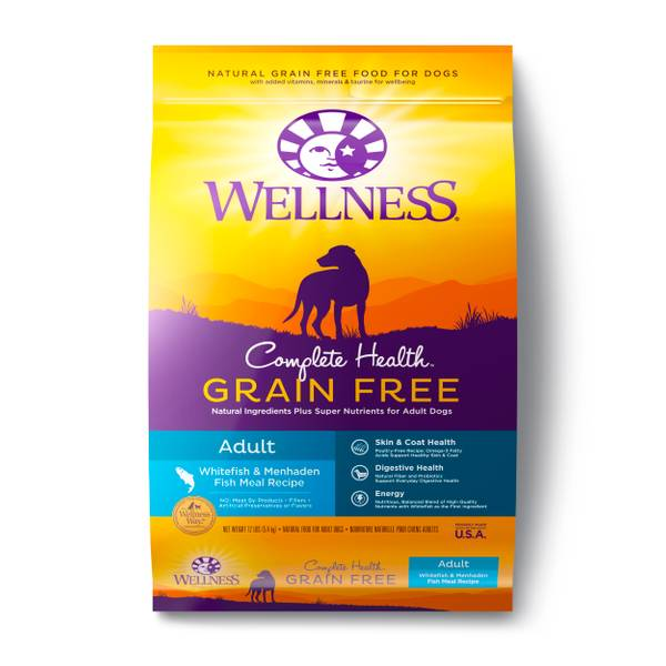 Wellness grain free whitefish menhaden fish meal adult for Menhaden fish meal