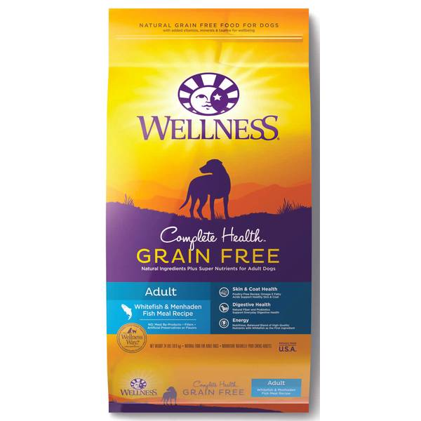 24 lb Grain-Free Whitefish & Menhaden Fish Meal Adult Dog Food