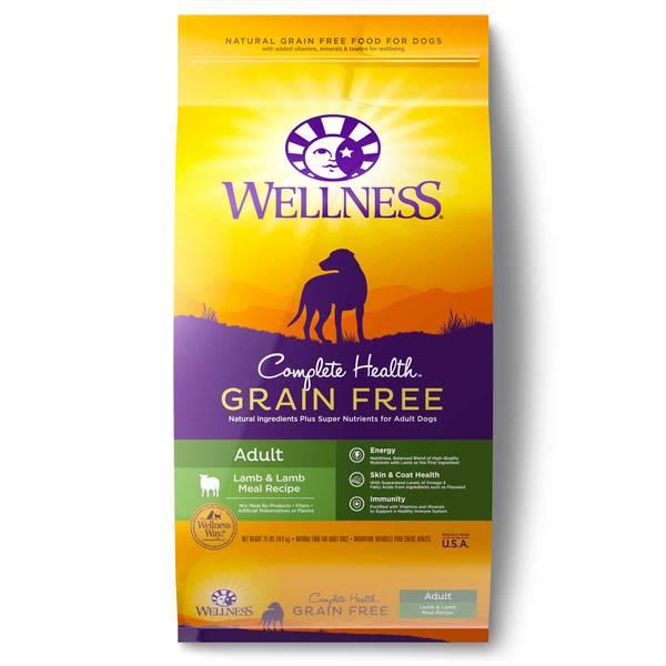 12 lb Grain-Free Lamb Adult Dog Food